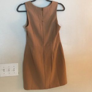 Forever 21 Dresses - Tan sleeveless sheath dress